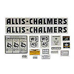 AC WD45: Mylar Decal Set