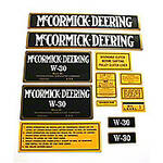 MC D W-30: Mylar Decal Set