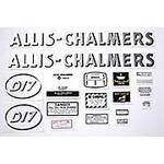 AC D17 Gas: Mylar Decal Set