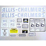 AC WD45 Vinyl Cut Decal Set