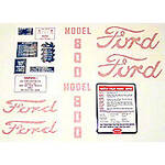 Ford 800 1955 - 1957: 14 piece mylar and vinyl cut Decal Set