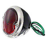 Complete Serviceable 12V Tail Light Assembly with license lamp window