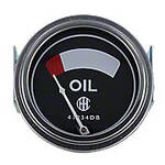 Oil Pressure Gauge (0-75 PSI) - Dash mounted