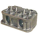 Cylinder Head With Seats And Valve Guides For JD 420, 430