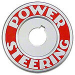Power Steering Plate Mounts Under Steering Wheel Nut
