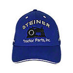 Blue Mesh Cap, Steiner Tractor Parts, Inc. Baseball Cap