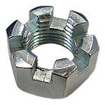 Slotted Hex Nut, 7/16""
