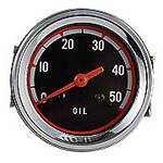 Oil Pressure Gauge (0-50 PSI) - Dash mounted