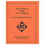 Service Manual: AC WD, WD45 Gas