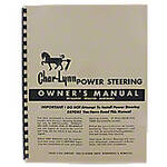 Char-Lynn Power Steering Owners Manual
