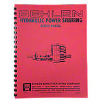 Behlen Power Steering Service & Parts Manual
