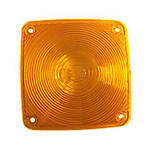 Rectangular amber lens only for ABC4098 warning light