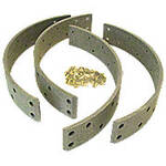 Brake Lining Set With Rivets