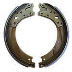 2-Piece Bonded Brake Shoe Set