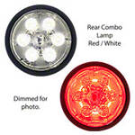 12 Volt LED Rear Combo Lamp, Red/White