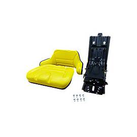 Universal full suspension Seat for Utility tractors, Yellow