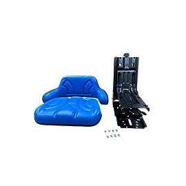 Universal full suspension Seat for Utility tractors, Blue