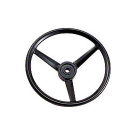 Steering Wheel With Covered Spokes