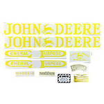 JD A 1934-38: Mylar Decal Set