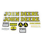 JD A 1939-1946: Mylar Decal Set