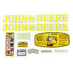 JD D 1923-38: Mylar Decal Set