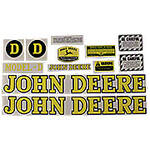 JD D 1939-46: Mylar Decal Set