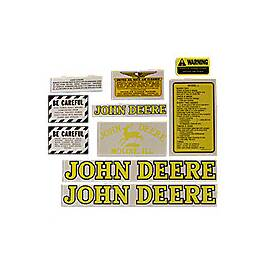 JD L 1939-46: Mylar Decal Set