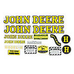 JD H 1939-46: Mylar Decal Set