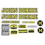 JD M 1947-52: Mylar Decal Set