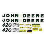 JD 420: Mylar Decal Set