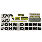 JD 520: Mylar Decal Set