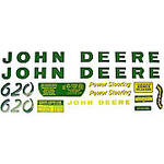 JD 620: Mylar Decal Set
