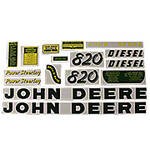 JD 820 Diesel: Mylar Decal Set