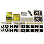 JD 630: Mylar Decal Set