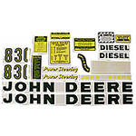JD 830 Diesel: Mylar Decal Set