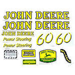 JD 60: Mylar Decal Set