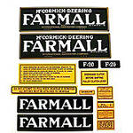 Farmall F-20: Mylar Decal Set