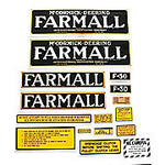 Farmall F-30: Mylar Decal Set