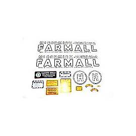 MC D H 1939-44: Mylar Decal Set