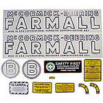 MC D B 1939-44: Mylar Decal Set