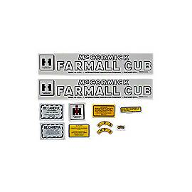 MC D Cub Post 1949: Mylar Decal Set