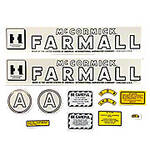 IH A 1945-52: Mylar Decal Set