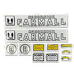 IH B 1945-52: Mylar Decal Set