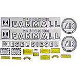 IH MD 1945-52: Mylar Decal Set