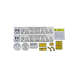 IH Super A 1947-54: Mylar Decal Set