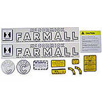 IH Super C 1951-54: Mylar Decal Set