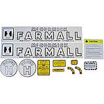 IH Super H 1953-54: Mylar Decal Set