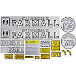 IH Super MD 1952-54: Mylar Decal Set