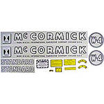 IH W4 1945-52: Mylar Decal Set