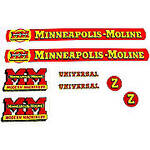 MM Z: Mylar Decal Set